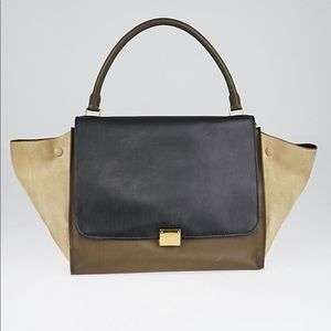 Authentic Celine Trapeze Tri Color: Offers Welcome